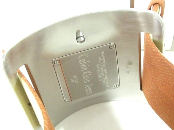 CK Jeans 腕時計美品  - K37156 レディース シルバー 4