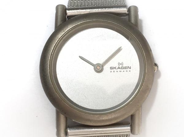 SKAGEN(スカーゲン) 腕時計 - 4SSS レディース シルバー 1