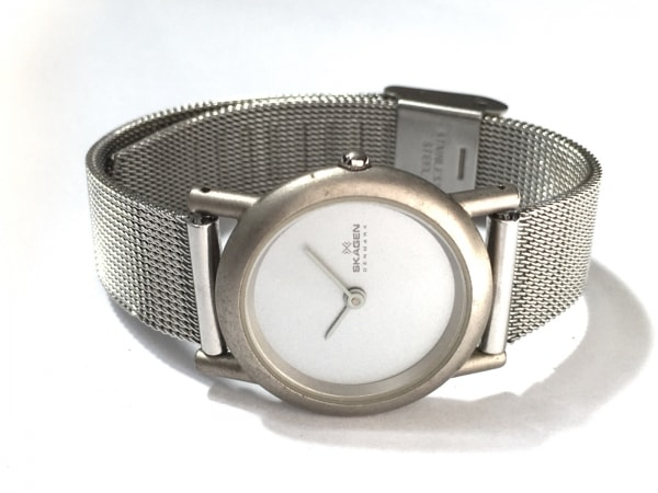 SKAGEN(スカーゲン) 腕時計 - 4SSS レディース シルバー 2