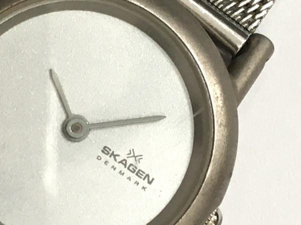 SKAGEN(スカーゲン) 腕時計 - 4SSS レディース シルバー 6