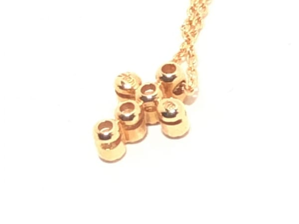 スタージュエリー ネックレス美品  K18PG×ダイヤモンド 3
