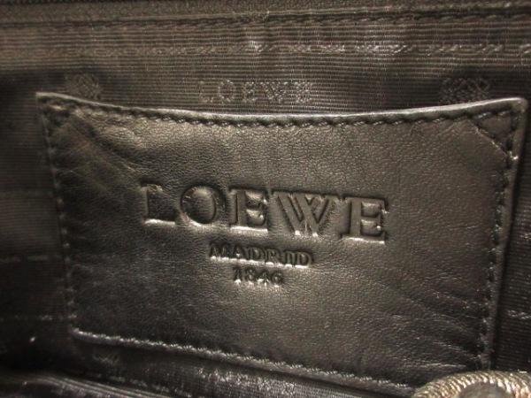 LOEWE(ロエベ) ハンドバッグ美品  アマソナ シルバー レザー 7