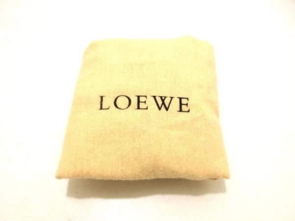 LOEWE(ロエベ) ハンドバッグ美品  アマソナ シルバー レザー 9