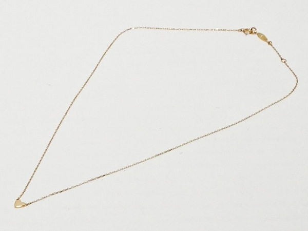 AHKAH(アーカー) ネックレス美品  K18YG ハート 2