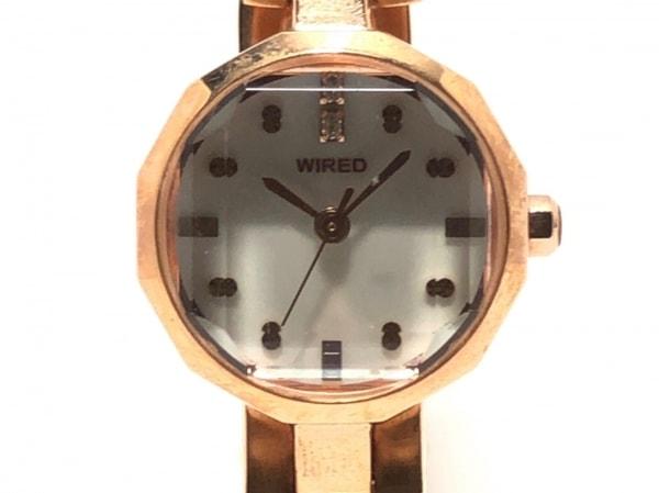 WIRED(ワイアード) 腕時計 - 1N01-0LM0 レディース シェル文字盤 1