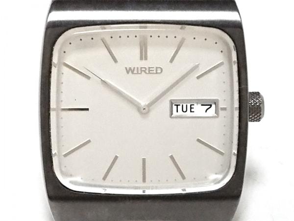 WIRED(ワイアード) 腕時計 - 7N43-0BG0 メンズ シルバー 1