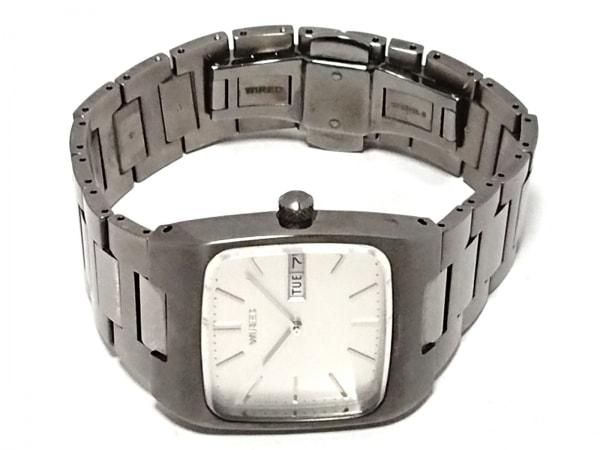 WIRED(ワイアード) 腕時計 - 7N43-0BG0 メンズ シルバー 2