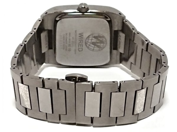 WIRED(ワイアード) 腕時計 - 7N43-0BG0 メンズ シルバー 3