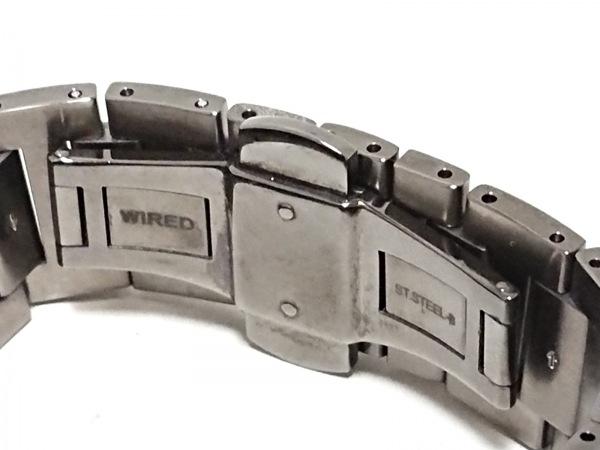 WIRED(ワイアード) 腕時計 - 7N43-0BG0 メンズ シルバー 5