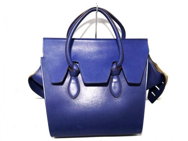 CELINE(セリーヌ) ハンドバッグ - ブルー レザー 1