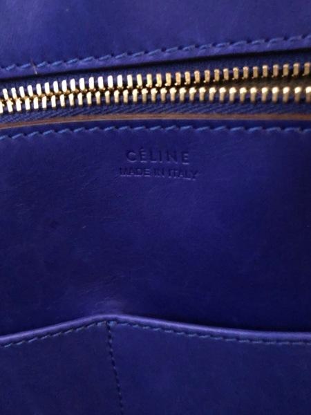 CELINE(セリーヌ) ハンドバッグ - ブルー レザー 8