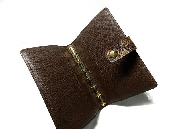 ルイヴィトン 手帳 ダミエ アジェンダPM R20700 エベヌ 3