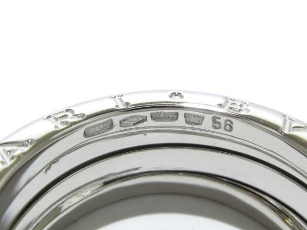 BVLGARI(ブルガリ) リング 56美品  B-zero1 K18WG 5