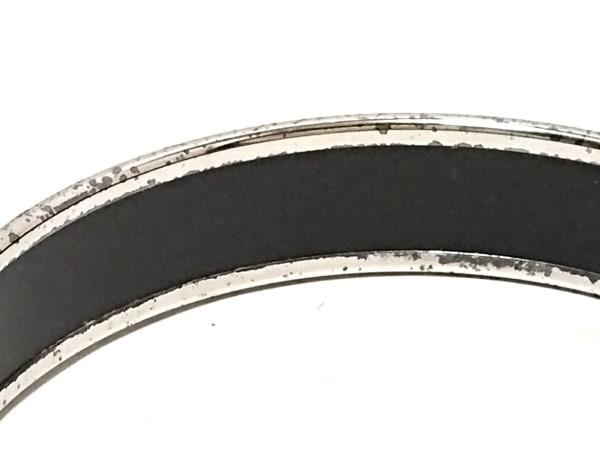 エルメス バングル エマイユ 金属素材 シルバー×ブルー×マルチ 6