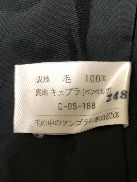 クレージュ スカートスーツ サイズ9 M レディース 黒×アイボリー 4