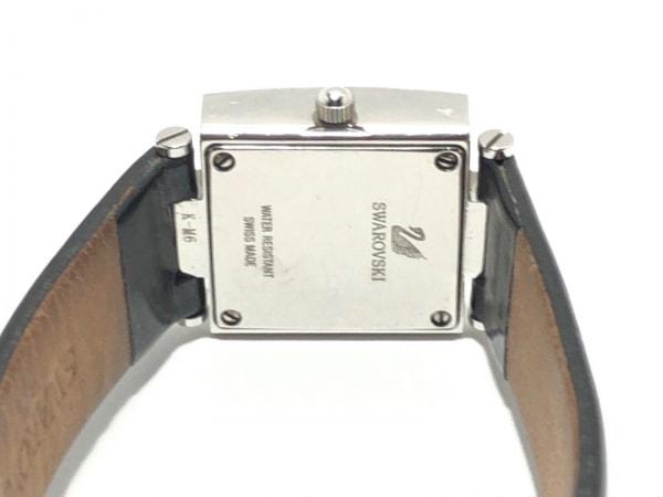 SWAROVSKI(スワロフスキー) 腕時計 - レディース 黒×クリア 4