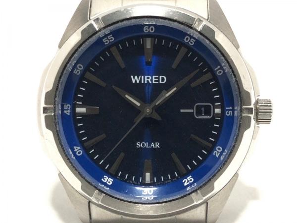 WIRED(ワイアード) 腕時計 V157-0AX0 メンズ ネイビー 1