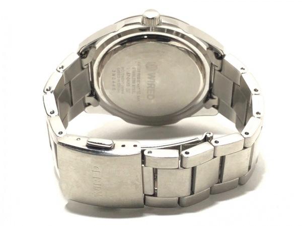 WIRED(ワイアード) 腕時計 V157-0AX0 メンズ ネイビー 3