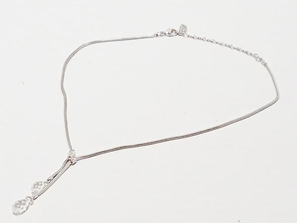 スワロフスキー ネックレス - スワロフスキークリスタル×金属素材 2
