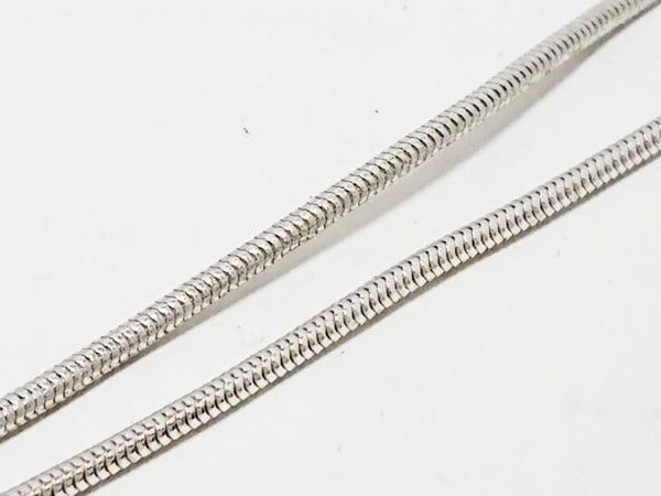 スワロフスキー ネックレス - スワロフスキークリスタル×金属素材 5