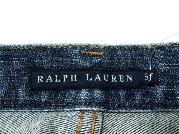ラルフローレン ジーンズ サイズ5f M レディース美品  ブルー 3