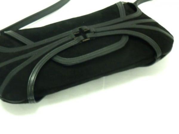 BALLY(バリー) ハンドバッグ美品  - 黒 スエード×レザー 4