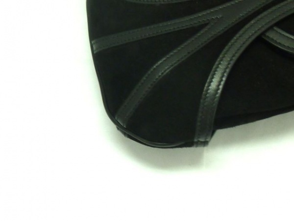 BALLY(バリー) ハンドバッグ美品  - 黒 スエード×レザー 5