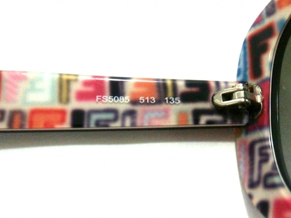 FENDI(フェンディ) サングラス FS5085 ダークブラウン×パープル 5