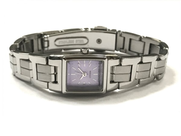 シチズン 腕時計美品  - 5431-L20891 レディース ライトパープル 2
