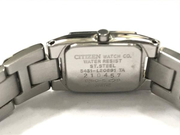シチズン 腕時計美品  - 5431-L20891 レディース ライトパープル 4