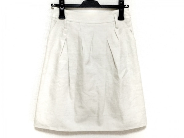 EPOCA(エポカ) スカート サイズ38 M レディース美品  - アイボリー 1