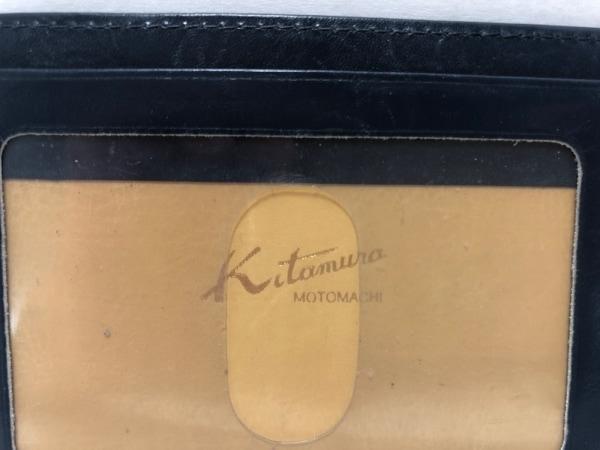 KITAMURA(キタムラ) パスケース - ネイビー×レッド レザー 4
