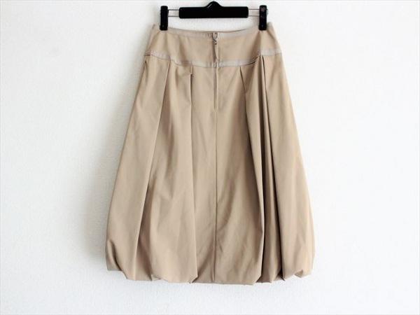 フォクシーニューヨーク スカート サイズ40 M レディース ベージュ 2