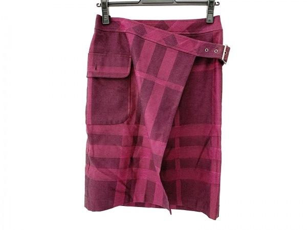 バーバリーロンドン 巻きスカート サイズ36 M レディース美品 1