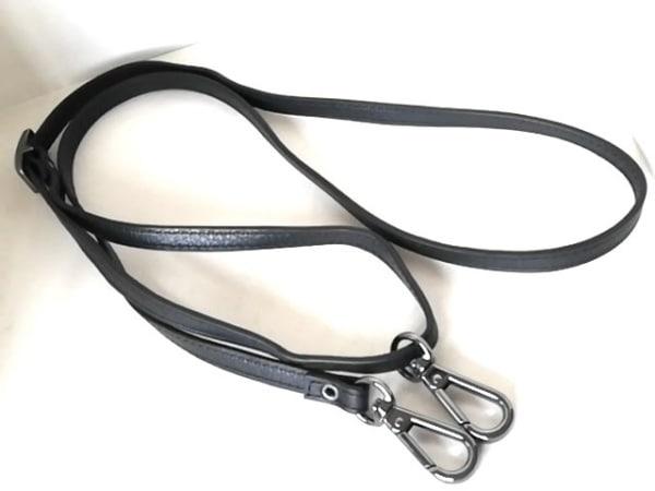 DIESEL(ディーゼル) 財布 - 黒×白 ショルダーウォレット レザー 5