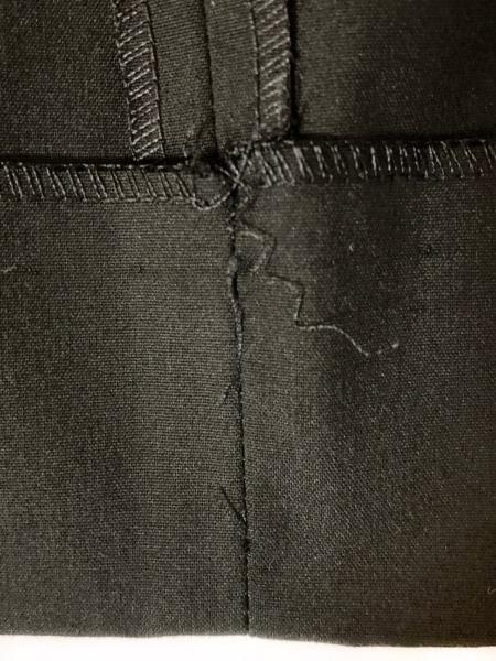 PRADA(プラダ) パンツ サイズ40 M レディース - 黒 フルレングス 9