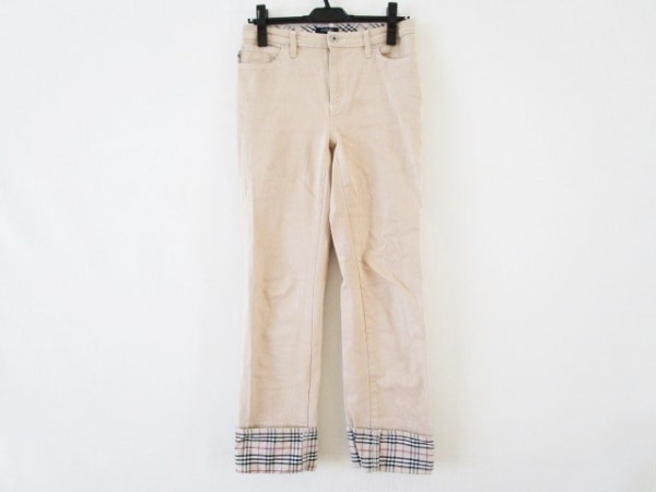 バーバリーロンドン パンツ サイズ38 L レディース チェック柄 1