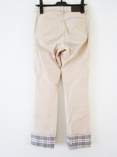 バーバリーロンドン パンツ サイズ38 L レディース チェック柄 2