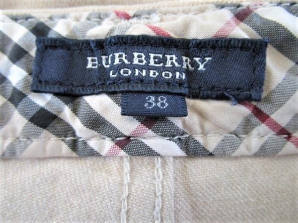 バーバリーロンドン パンツ サイズ38 L レディース チェック柄 3