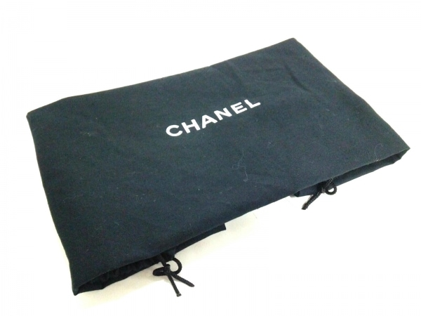 シャネル トートバッグ ワイルドステッチ A19351 黒 スエード 9