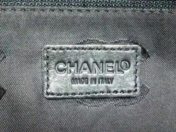 CHANEL(シャネル) トートバッグ ワイルドステッチ 黒 ラムスキン 7