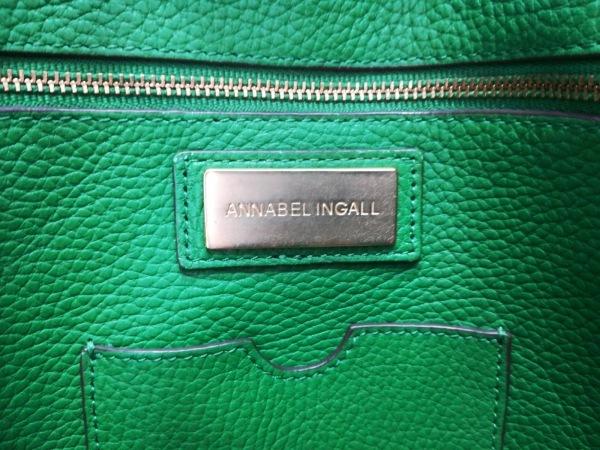 ANNABEL INGALL(アナベルインガル) トートバッグ グリーン レザー 8
