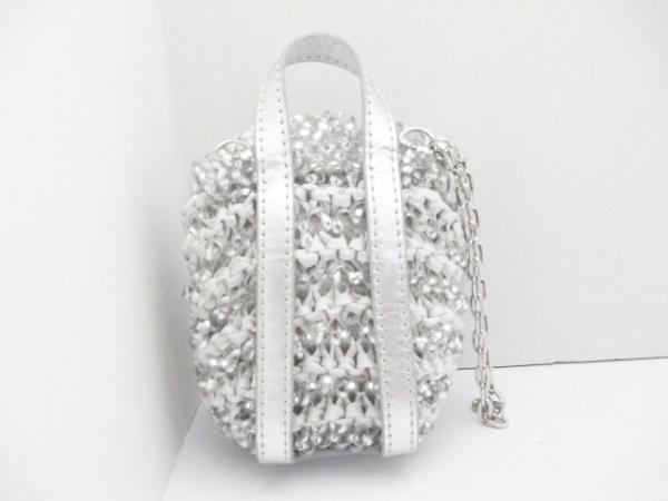 アンテプリマ ポーチ美品  - シルバー×ライトグレー リュック型 2