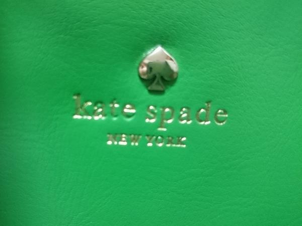 Kate spade(ケイトスペード) ショルダーバッグ グリーン レザー 8