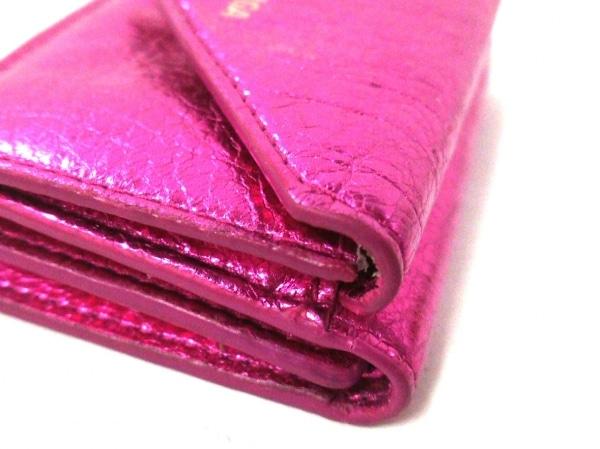 バレンシアガ 3つ折り財布美品  ペーパーミニウォレット 391446 7