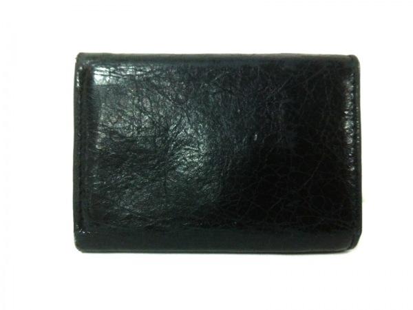 バレンシアガ 3つ折り財布 クラシックミニウォレット 431653 黒 2
