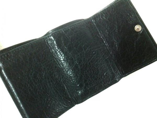 バレンシアガ 3つ折り財布 クラシックミニウォレット 431653 黒 3