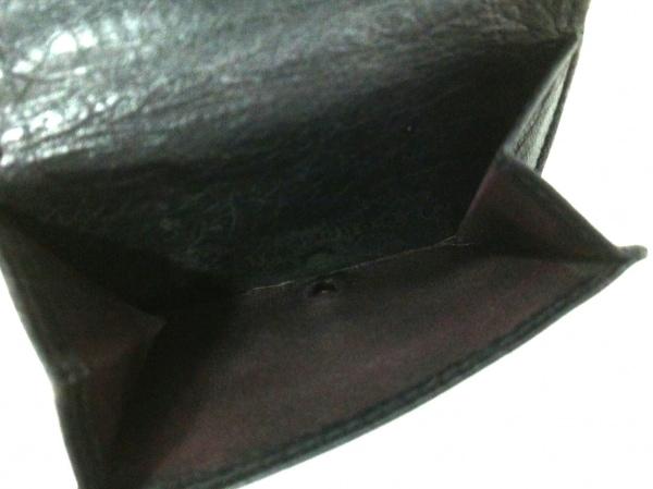 バレンシアガ 3つ折り財布 クラシックミニウォレット 431653 黒 4