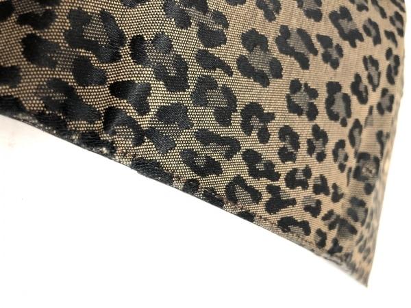 フェンディ 3つ折り財布 - 8M0001 ベージュ×黒 豹柄 ジャガード 8