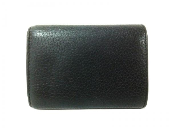 CELINE(セリーヌ) 3つ折り財布 - 黒 レザー 2